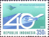 [The 40th Anniversary of Garuda Airline, Typ AXA]