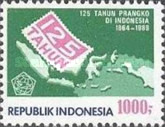 [The 125th Anniversary of First Netherlands Indies Stamp, Typ AXI]