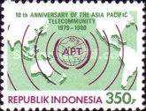 [The 10th Anniversary of Asia-Pacific Telecommunity, Typ AXL]