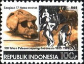 [The 100th Anniversary of Palaeoanthropology in Indonesia, Typ AXQ]