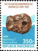 [The 100th Anniversary of Palaeoanthropology in Indonesia, Typ AXV]