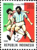 [Football World Cup - Italy, type AZM]