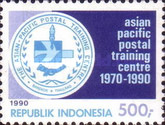 [The 20th Anniversary of Asian-Pacific Postal Training Center, type AZV]