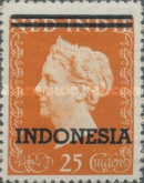 "[Queen Wilhelmina - Netherlands Indies Postage Stamps Overprinted ""INDONESIA"" - 2 Bars, Typ B3]"