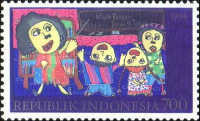 [Compulsory Nine Year Education Program - Winning Entries in Children's Stamp Design Competition, Typ BJR]