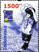 [The 100th Anniversary of the Scouting Movement, Typ CST]