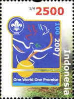 [The 100th Anniversary of the Scouting Movement, Typ CSV]