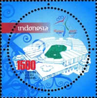 [The 17th Indonesian National Games 2008, type CWF]