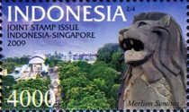 [Joint Stamp Issue Indonesia - Singapore, Typ DAW]