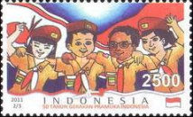 [The 50th Anniversary of the Indonesian Scout Movement, Typ DFT]