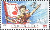 [The 50th Anniversary of the Indonesian Scout Movement, Typ DFV]