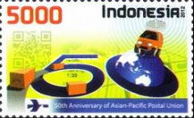 [The 50th Anniversary of the Asian-Pacific Postal Union, Typ DHO]