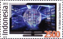 [The 50th Anniversary of Television Broadcasting in Indonesia, Typ DJC]