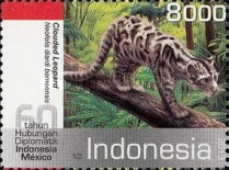 [Wild Cats - The 60th Anniversary of Diplomatic Relations with Mexico - Joint Issue, Typ DKE]