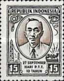 [The 10th Anniversary of Indonesian Post Office, Typ FB]