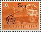 [Transport and Traffic - Overprinted '65 and Surcharged with New Currency, Typ TD]