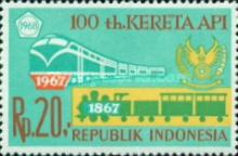 [The 100th Anniversary of Indonesian Railways, Typ WR]