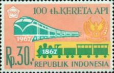 [The 100th Anniversary of Indonesian Railways, Typ WS]
