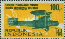 [The 50th Anniversary of 1st England-Australia Flight by Ross and Keith Smith, Typ YU]