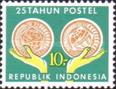 [The 25th Anniversary of Indonesian Post and Telecommunications Services, type ZL]