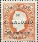 [Mozambique Postage Stamps Issue of 1886 Overprinted