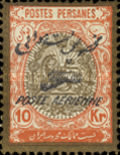 [Airmail - Stamps of 1909 Overprinted, Typ AVI]
