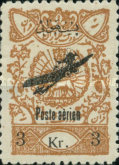 [Airmail - Revenue Stamps Overprinted