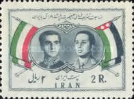 [Visit of King Faisal II of Iraq, Typ BDW]