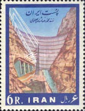 [Completion of Mohammad Reza Shah Pahlavi Dam, Typ BGE]