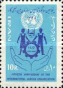[The 50th Anniversary of the ILO - International Labour Organization, Typ BNY]