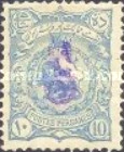 [No. 97-105 Handstamped in Violet, type Y1]