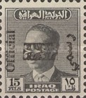 [King Faisal II - Iraq Postage Stamps and Not Issued Stamps Overprinted