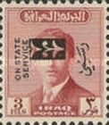 [King Faisal II - Iraq Official Stamps of 1948-1958 Overprinted, Typ AF]
