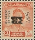 [King Faisal II - Iraq Official Stamps of 1948-1958 Overprinted, Typ AF15]