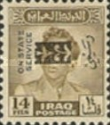 [King Faisal II - Iraq Official Stamps of 1948-1958 Overprinted, Typ AF7]