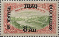 [Turkish Postage Stamps Overprinted & Surcharged, type A8]