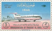 [Airmail - Inauguration of Hawker Siddeley Trident 1E Aircraft by Iraqi Airways, type DV]