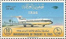 [Airmail - Inauguration of Hawker Siddeley Trident 1E Aircraft by Iraqi Airways, type DV1]