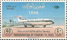 [Airmail - Inauguration of Hawker Siddeley Trident 1E Aircraft by Iraqi Airways, type DV2]