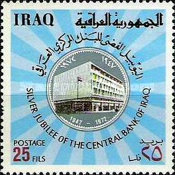 [The 25th Anniversary of Central Bank of Iraq, Typ KX]