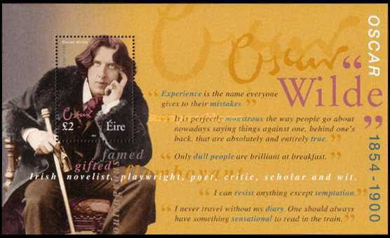 [The 100th Anniversary of the Death of Oscar Wilde, type ]