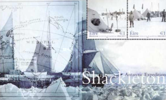 [The 90th Anniversary of the Antartic Expedition of Ernest Schackleton, type ]