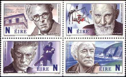 [Irish Nobel Laureates, type ]