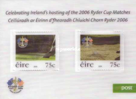 [Celebrating Ireland`s Hosting of the 2006 Ryder Cup Matches - Self-Adhesive Stamps, type ]