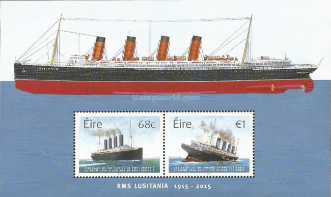 [The 100th Anniversary of the Sinking of the RMS Lusitania, type ]