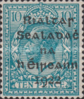 [Great Britain Stamps Overprinted in Black by Dollar Printing House Ltd. - Roman Numeral I and Long 9 in