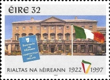 [The 75th Anniversary of the Republic of Ireland, type AAE]
