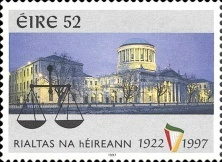 [The 75th Anniversary of the Republic of Ireland, type AAG]