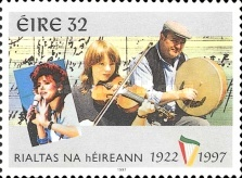 [The 75th Anniversary of the Republic of Ireland, type AAQ]