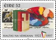 [The 75th Anniversary of the Republic of Ireland, type AAS]